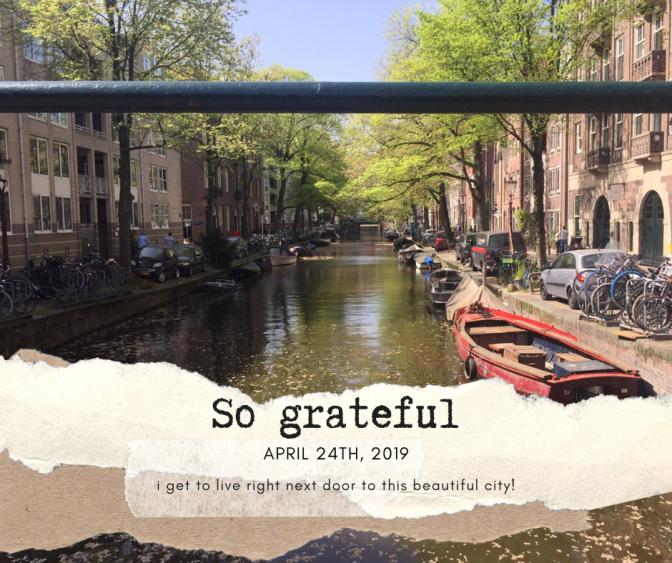 So grateful pic of amsterdam